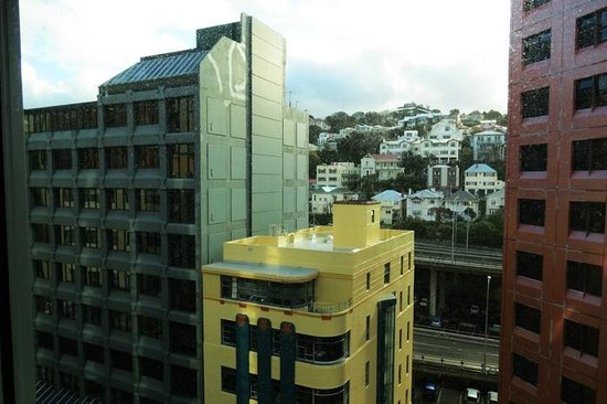 Novotel Wellington: View from the room