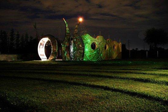 B&B Espressione Arte : notturna del parco