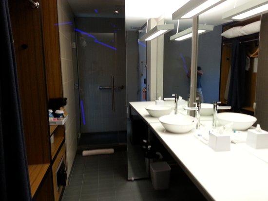 Aloft Phoenix-Airport: bathroom