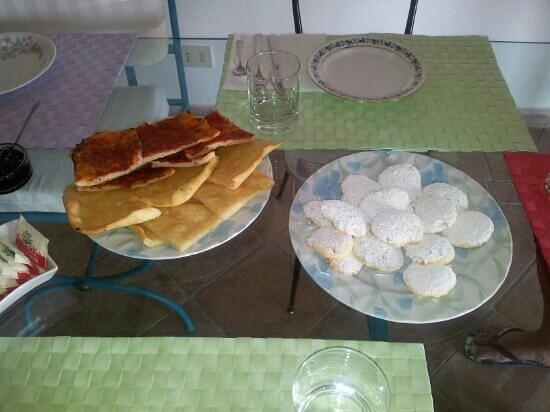 Bed & Breakfast Beba : Colazione