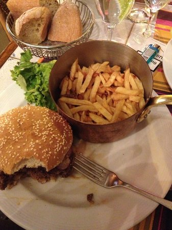 Creperie Gaité : Reblochon Burger & Fries