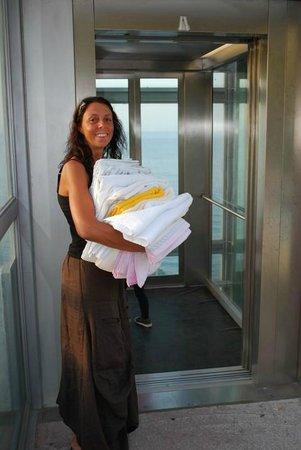 Hotel la Baia: il servizio super....noi abbiamo portato biancheria dopo averla chiesta e pagata