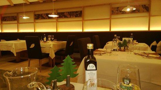 Hotel Teresa: Una delle sale ristorante