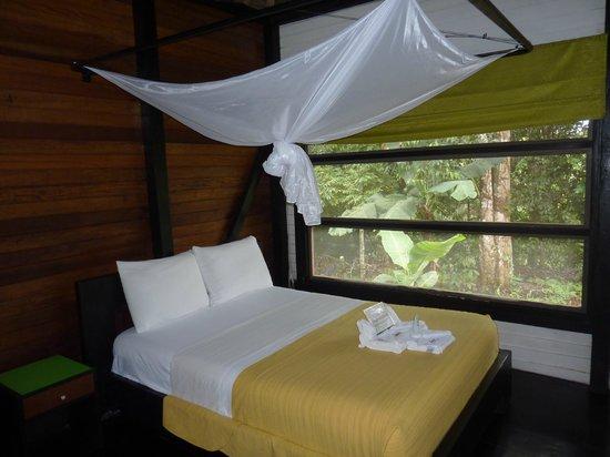 Sani Lodge: interno dell'alloggio