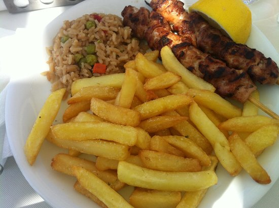 PARADISO CLUB HOTEL - BEACH BAR - RESTAURANT: Souvlaki