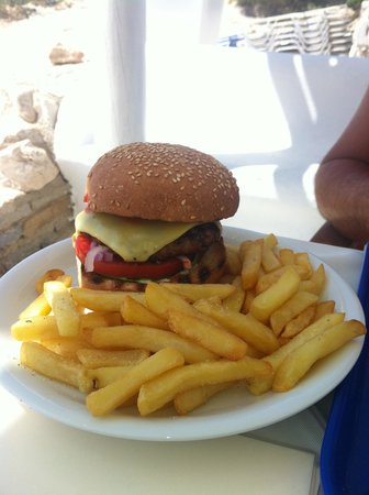 PARADISO CLUB HOTEL - BEACH BAR - RESTAURANT: Hamburger