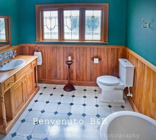 Wairarapa, New Zealand: B&B bathroom