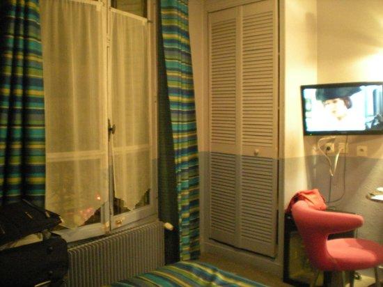 Hotel Roma Sacre Coeur: La camera! (la risoluzione è pessima...)