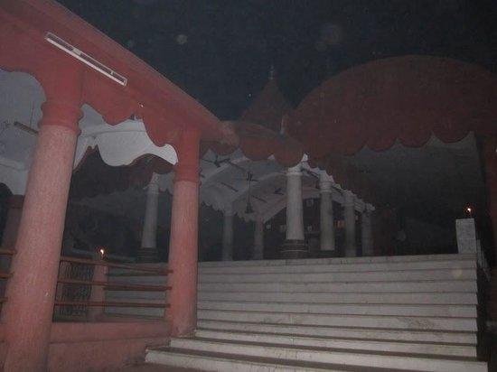 Kamaleswari temple: The left view