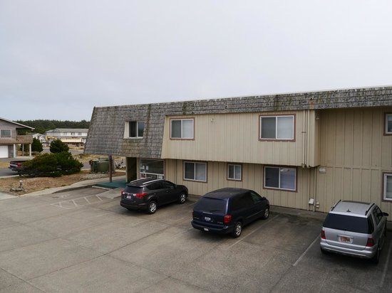 Bandon Beach Motel : Innenhof