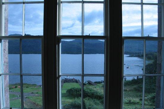 Loch Maree Hotel: vue sur le loch