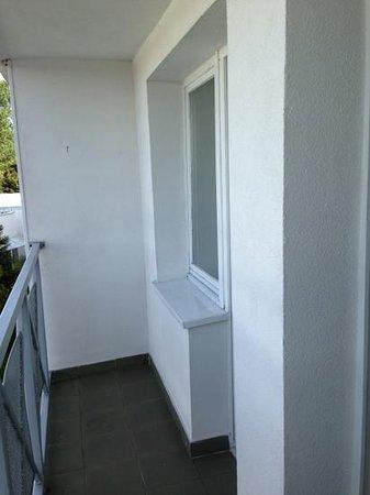 Wolin Hotel: Balkon