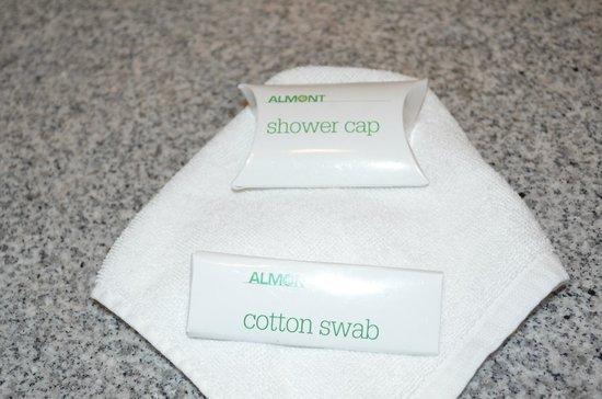 Almont Beach Resort: stuff at the bathroom
