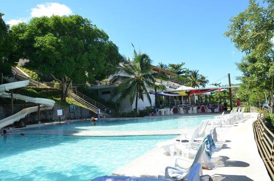 Almont Beach Resort: the slide