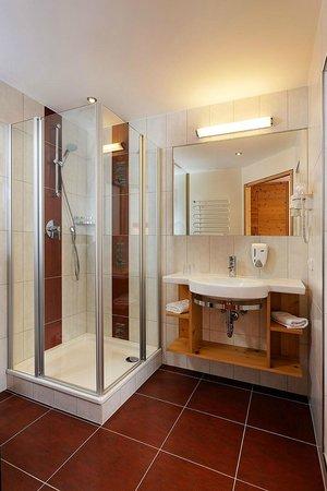 Hotel Flatscher: Badezimmer