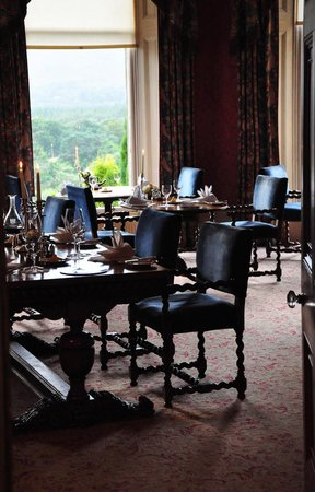 Inverlochy Castle Hotel : Dining area