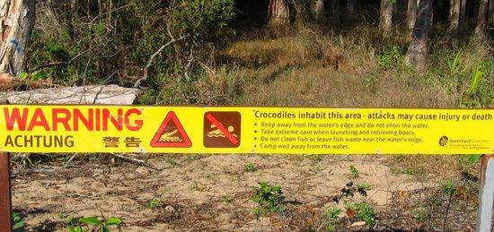 Kewarra Beach Resort & Spa : attention aux crocodiles. ...