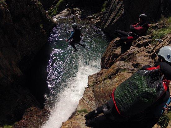 Speleo Canyon Ariege: canyon de l'artigue