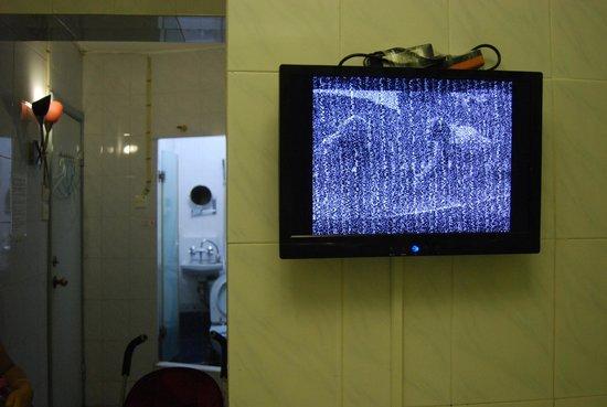 Cosmic Guest House Hong Kong: useless tv