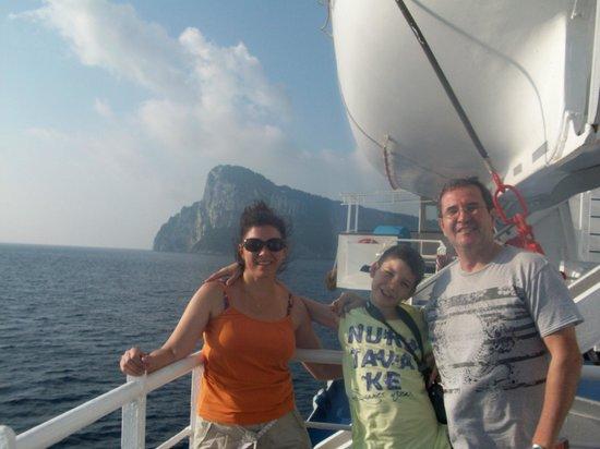 B&B Casa Tonia: Paseo a Capri