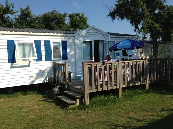 Camping Atlantique Parc : Keycamp chalet