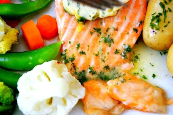 The Bothy Restaurant and Bar: salmone