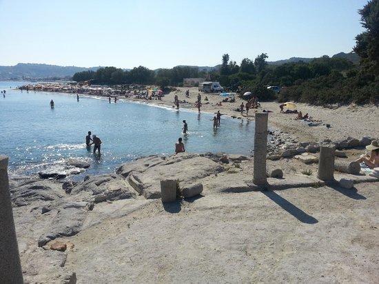 Sevi Apartments Kos: Spiaggia vicino all'appartamento