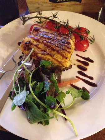 steam bar : Cajun roasted cod