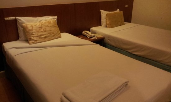 Chinatown Hotel: Comfortable beds