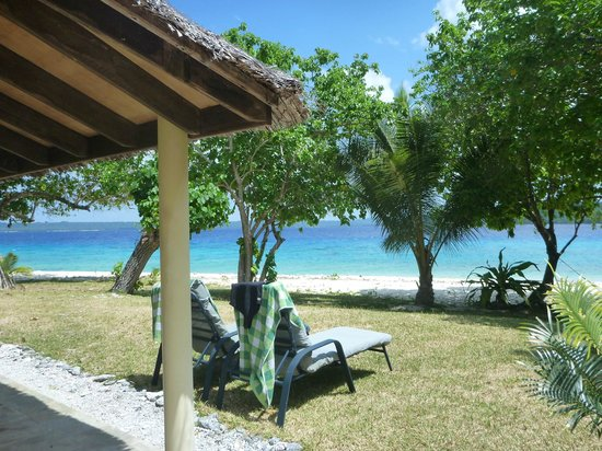 Bokissa Private Island Resort: view from our room