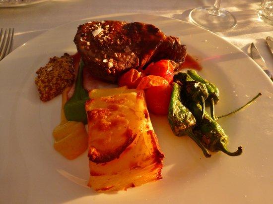 Hotel La Vinuela : Veal Sirloin (Fillet Steak) - amazing!