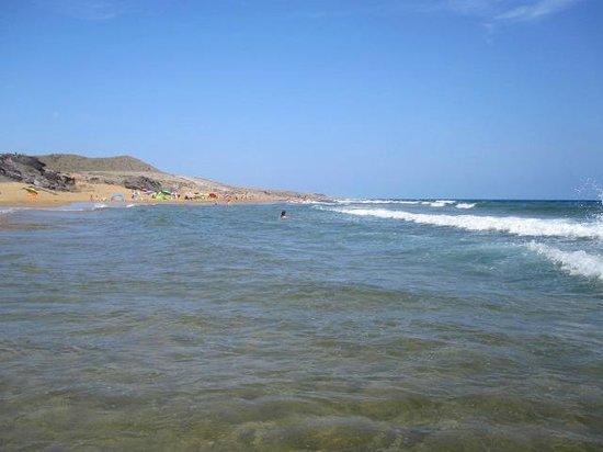 Playa de Calblanque: Mer toujours propre