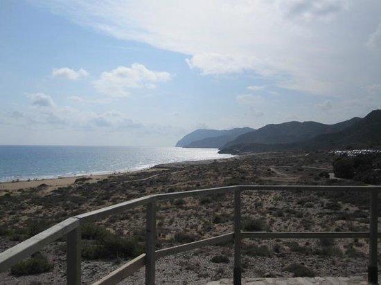 Playa de Calblanque: En arrivant à la plage