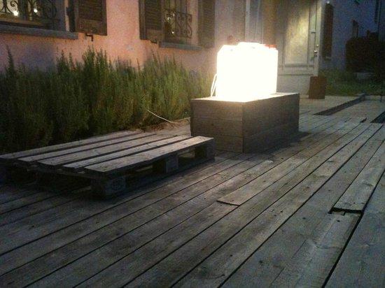 Illuminazione esterna particolare picture of il granero