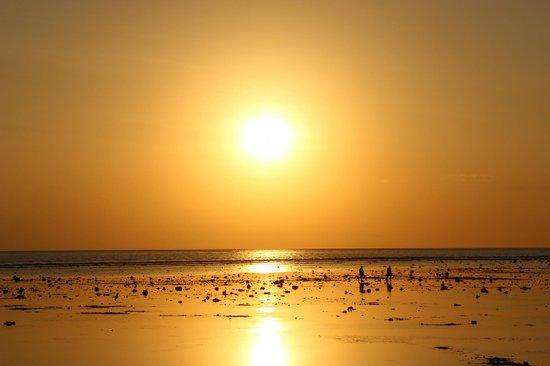 Sunset at Gili Trawangan