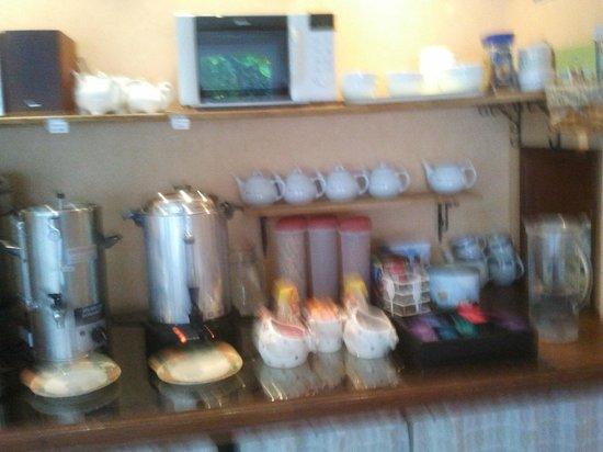 Hotel Le Plantagenet: Desayuno