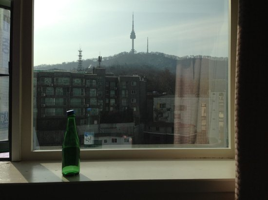 Astoria Hotel : View of Namsan from the window