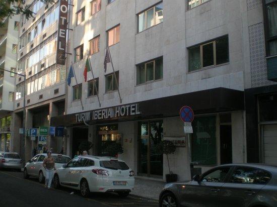 Turim Iberia Hotel : FACHADA