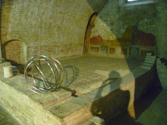 Casa Romana di Vespaia Polla: Interno