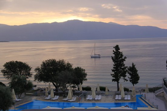 Nikiana, Greece: A view from room window