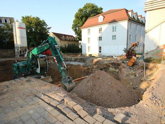 Parkhotel Meissen: Bautätigkeit