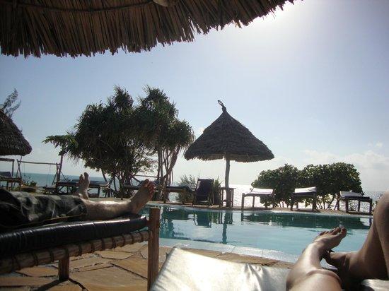Mbuyuni Beach Village: Poolside
