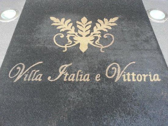 B&B Villa Vittoria : Tapis d'entrée