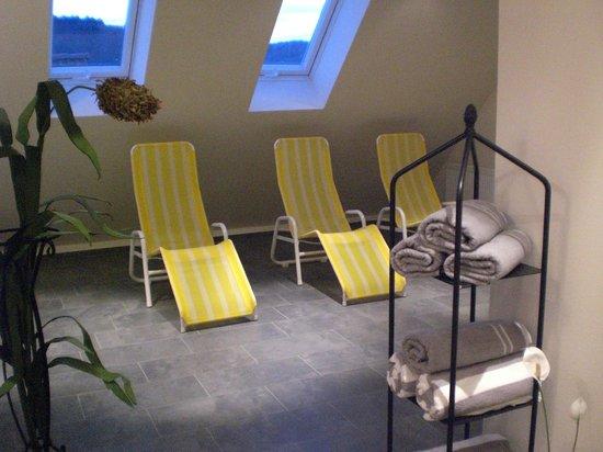 Das kleine Amtshotel: Ruheraum Sauna