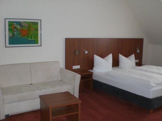 Das kleine Amtshotel : Ansicht Doppelzimmer