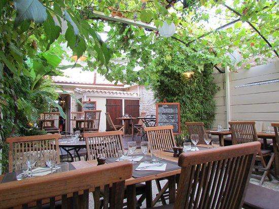 Cote Jardin : Tables côté jardin