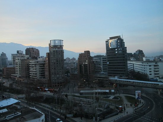 NH Collection Plaza Santiago: View