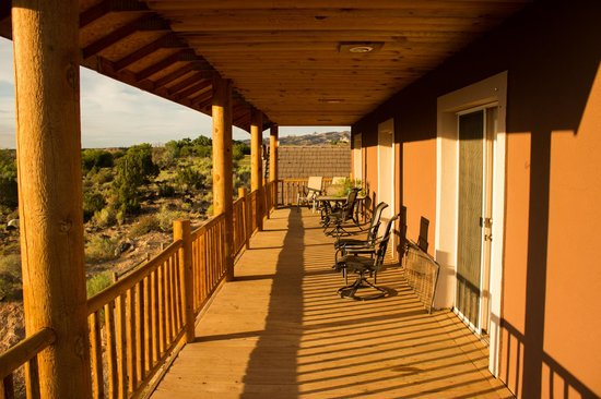 Notom Ranch Bed & Breakfast: terrazza con vista
