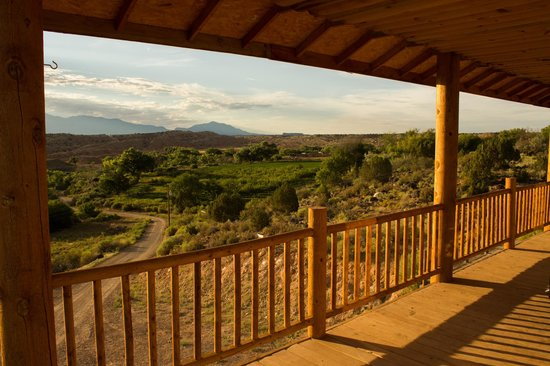 Notom Ranch Bed & Breakfast: vista dalla terrazza