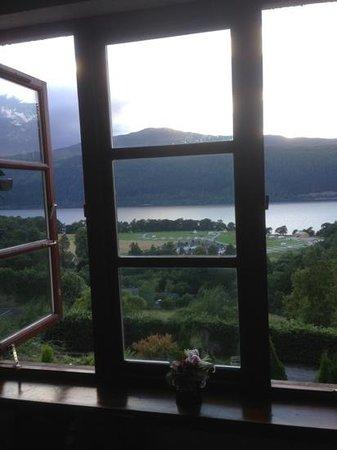 The Craigdarroch Inn: Aussicht aus meinem Zimmer